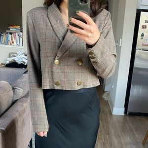 Cropped Blazer with buttons- Revolve (Tularosa)